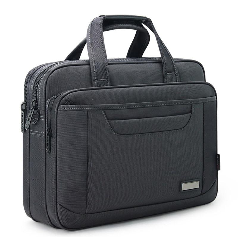 Business Nylon 15 Inch Laptop Bag Shoulder Handbag Waterproof Notebook Briefcase Bag