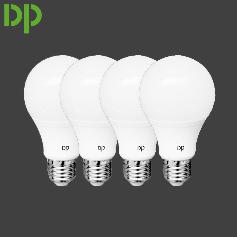 4 pcs/set Duration Power 9W e27 light bulb with 21 pcs SMD LED PBT material energy saving bulbs RGB LED 780lm