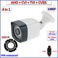 2-МЕГАПИКСЕЛЬНАЯ HDCVI AHD-H HDTVI 960H 4in1 камеры видеонаблюдения AHD камеры 1080P открытый HD Аналоговый Безопасности видеокамера наружного наблюдения IP66, F22 датчик, 3.6 мм Объектив, OSD, IR-CUT, UTC, 18pcs LEDs