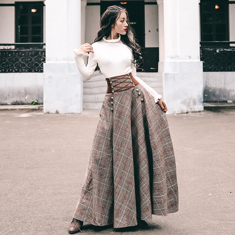 Autumn Elegant Ladies Two Two Piece vintage Outfits Turtleneck Bodycon Knitwear Sweater Tops and elastic bandage