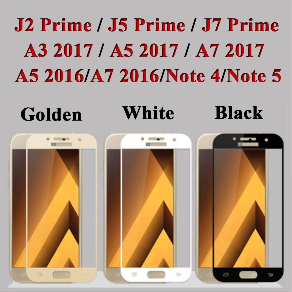 Samsung Galaxy J2 J5 J7 Prime 9H ekran qoruyucu üçün Galaxy Cover - Cib telefonu aksesuarları və hissələri - Fotoqrafiya 2