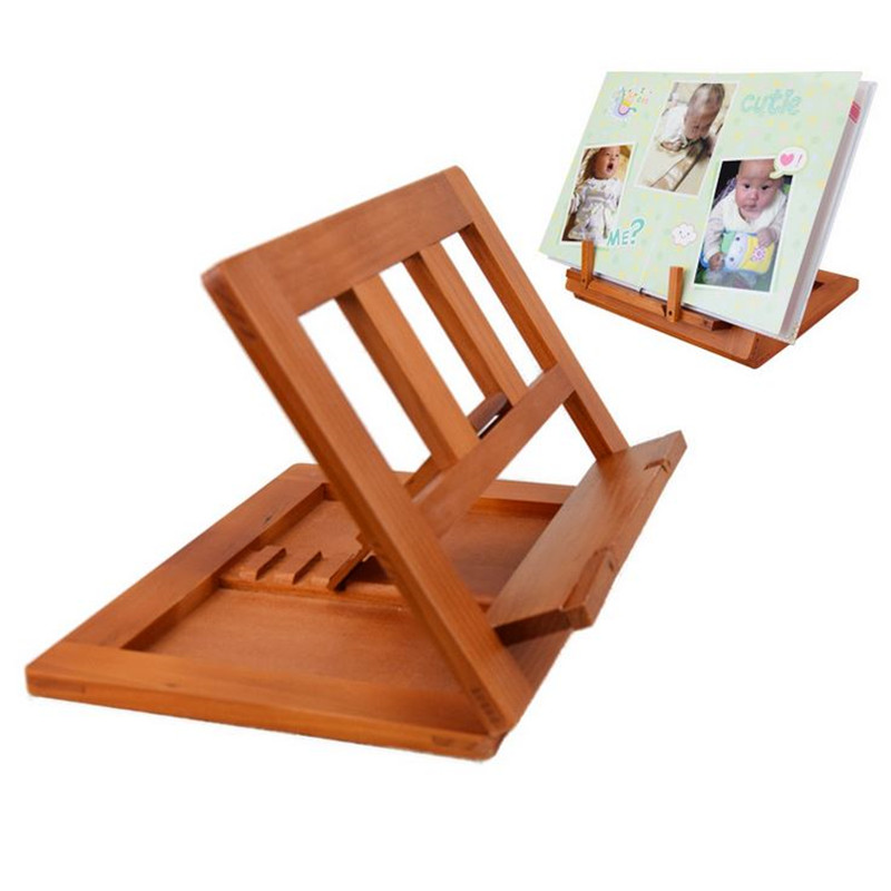 Colorful 1PC Wood Students Book Holder Bookends Creative Strong Book Stand for Kids Gift Bookshelf For Desk School Office Supply