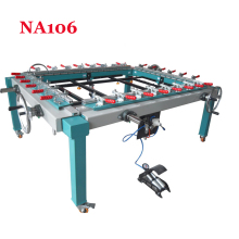 1PC Hand wheel single chuck machinery stretcher machine,NA106 net head tension device machine Net area 1500*1200mm