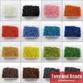 (2000 шт. = 1 лот!) Бесплатная доставка свободные 2 мм Чешский Mini Стекло семян Spacer Палочки Цвет для изготовления ювелирных изделий DB1 - фото