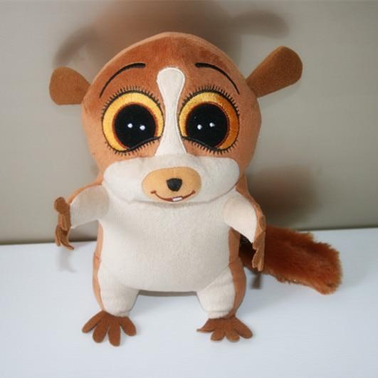 Madagascar 2 Penguins Mort the Lemur 22cm Plush Doll PP Cotton