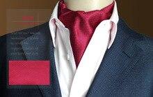 mens fashion cravat wedding formal british style for polyester silk neckerchief men tie handkerchief paisley ties