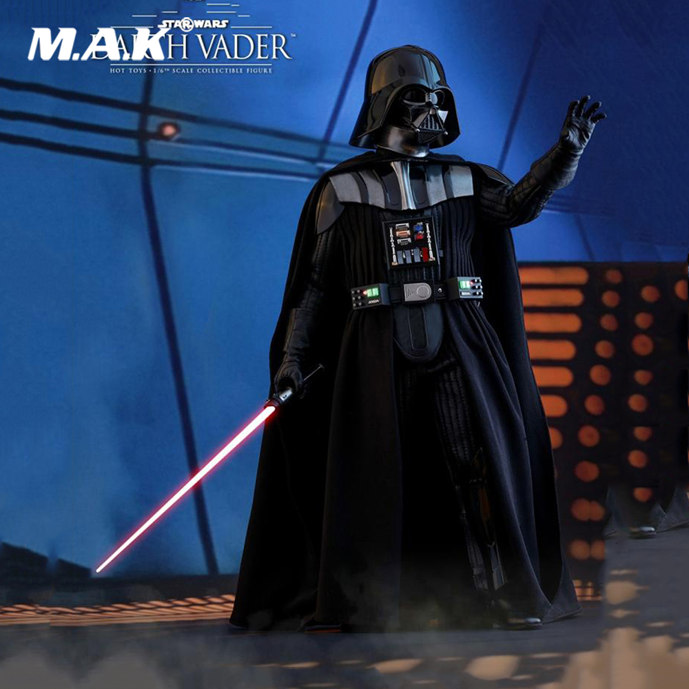 купить 1/6 Scale Collectible Full Set Star Wars Episode V The Empire Strikes Back Darth Vader Action Figure Model Toys for Fans Gift онлайн