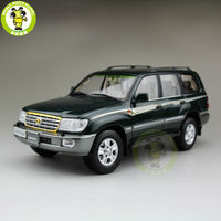 1/18 Toyota Land Cruiser LC100 Diecast SUV Car Model Toys for Boys Girls gifts Green