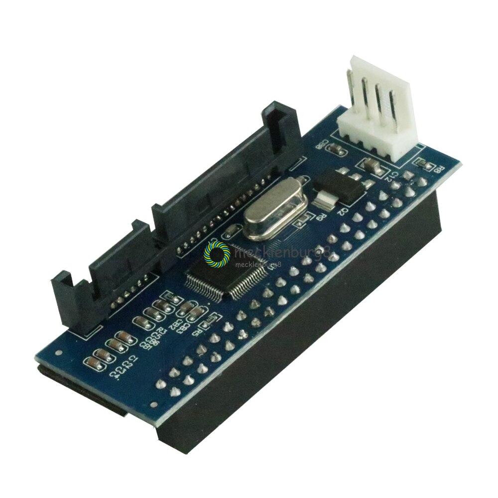 40-Pin IDE Female SATA Converter To 22-Pin PATA SATA Adapter T1 Card