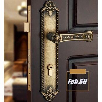 85mm central distance door handle lock with 70mm key lock 85MM CENTRAL DISTANCE  DOOR HANDLE LOCK WITH 70MM KEY LOCK