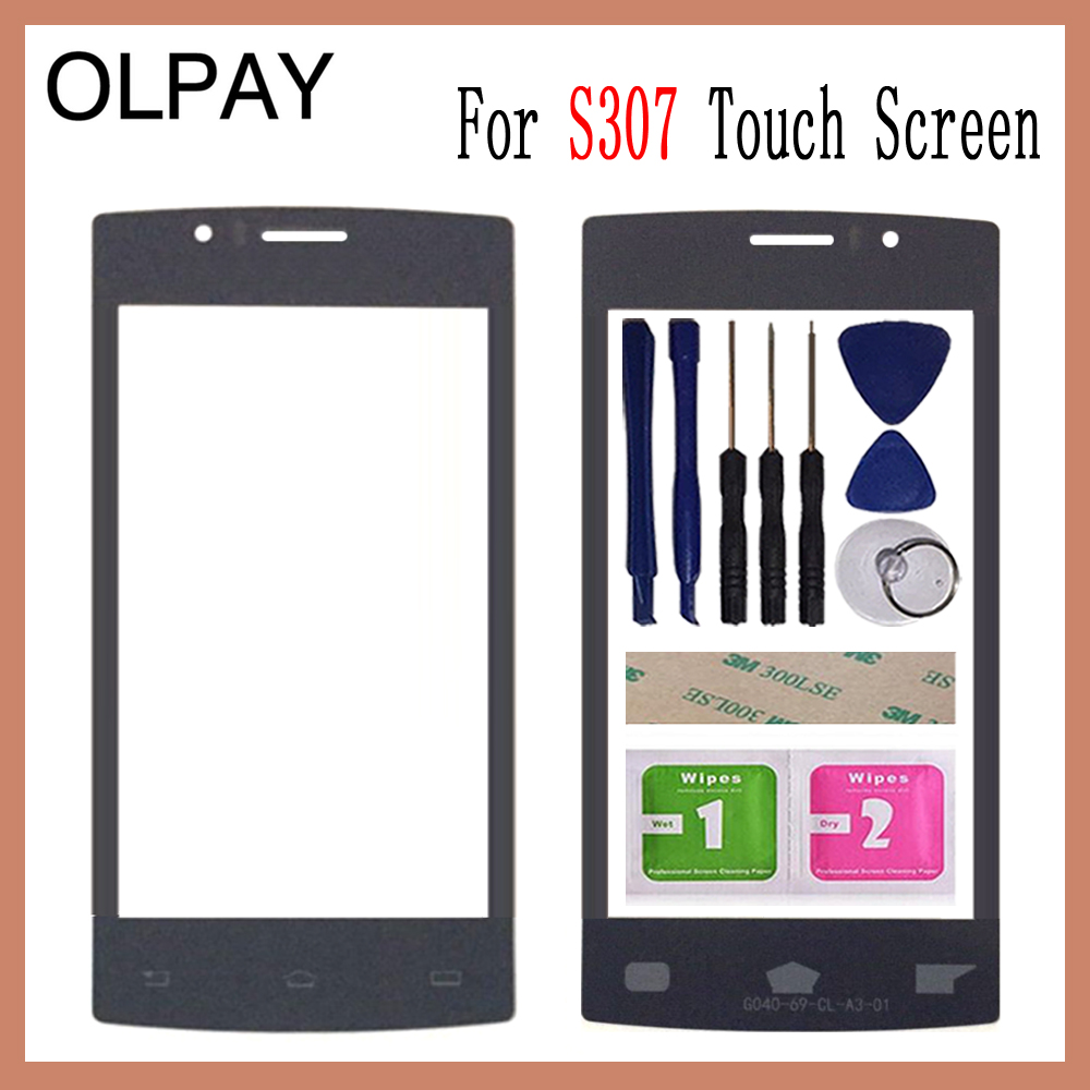 OLPAY 4.0 inch 100% Original For Philips Xenium S307 Touch Screen Panel Front Outer Glass Lens Touch Screen NO LCD DigitizerOLPAY 4.0 inch 100% Original For Philips Xenium S307 Touch Screen Panel Front Outer Glass Lens Touch Screen NO LCD Digitizer