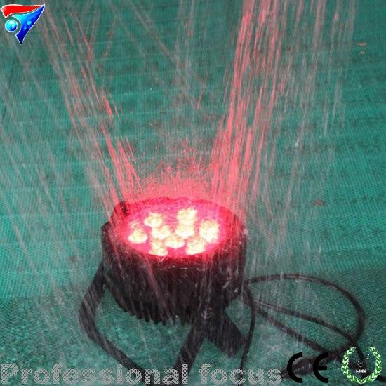 9x15W RGBWA UV LED PAR Light IP65 DMX Waterproof PAR 64 DJ Stage Lighting 6in1 led outdoor par