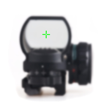 Reflex Red/Green Dot Sight for Rail Mount