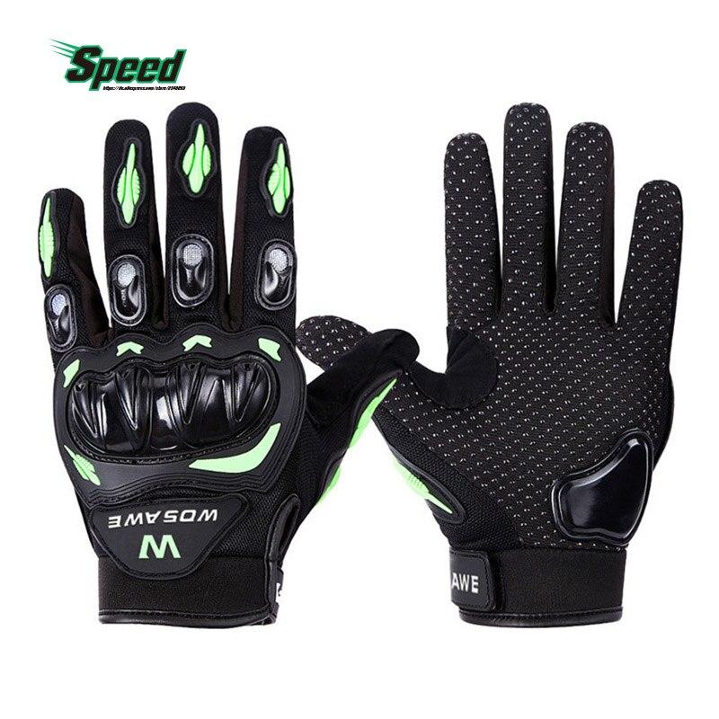 WOSAWE Outdoor Sport Hiking Full Finger font b Gloves b font Hard Shell Anti Wear MTB
