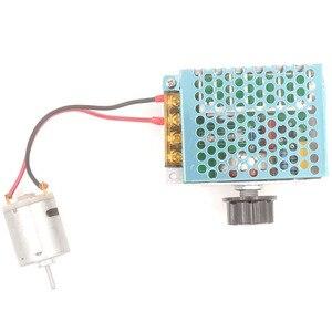 Image 3 - אחת שלב Knob מתאם AC220V 4000 W ברציפות משתנה שנאי עבור מנוע מהירות רגולטור LED בהירות בקרה