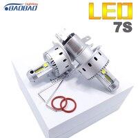 BAOBAO 7S LED Car Headlight Bulb Use XHP50 Chips 90W 1000LM 6500K Auto Led Headlamp Car