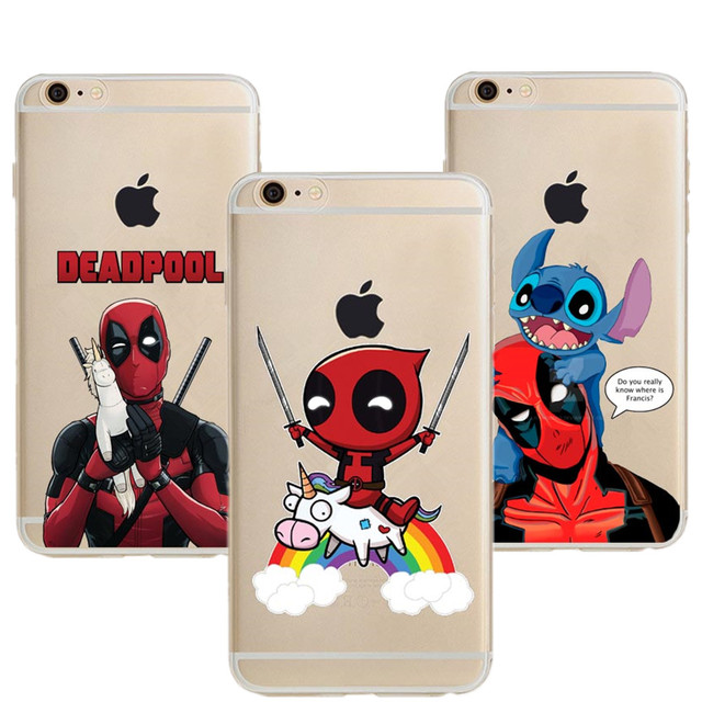 iphone 7 plus phone cases deadpool