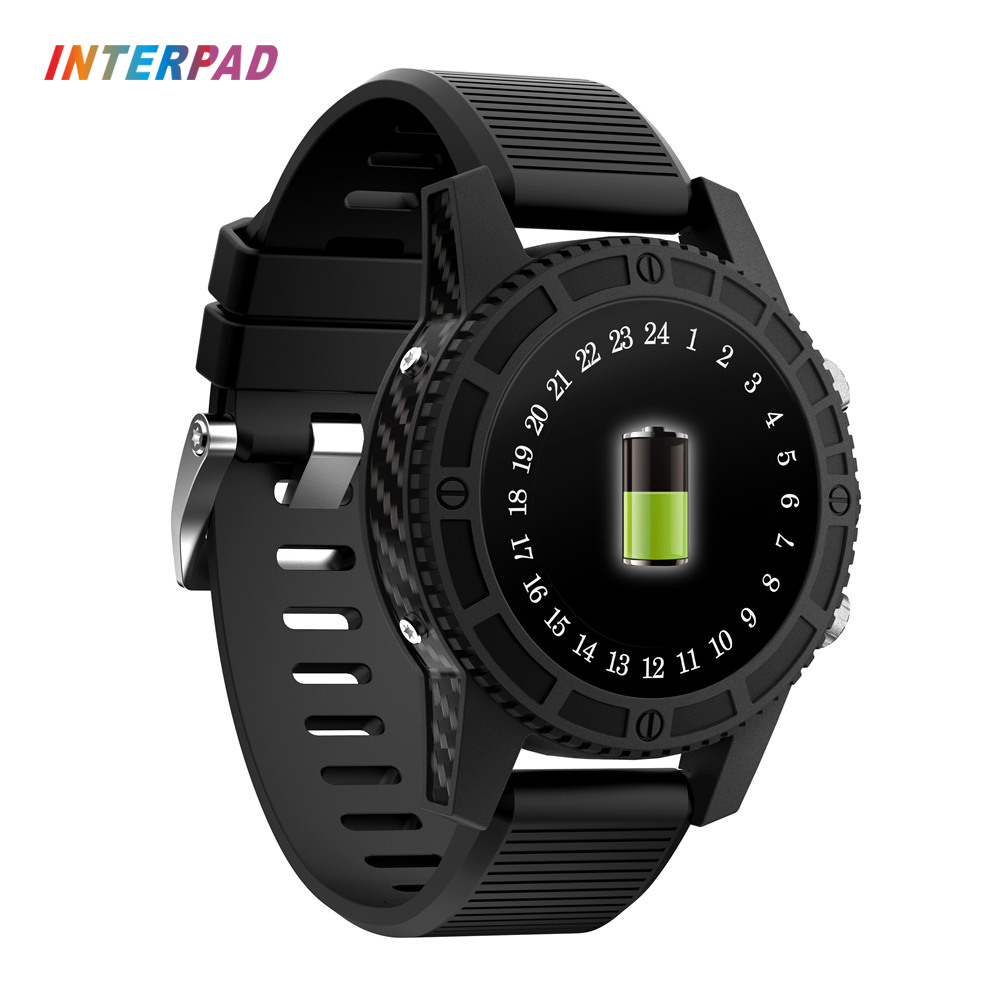 Newest Interpad GPS Wifi Smart Watch Android 7.0 MTK6737 4G Quad Core SmartWatch 1GB+16GB For iOS Android Xiaomi Huawei Phone цена