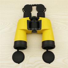 2015 high quality best central focusing 7×50 waterproof binoculars for water sports, HD powerful 26mm big eyepieces binoculars