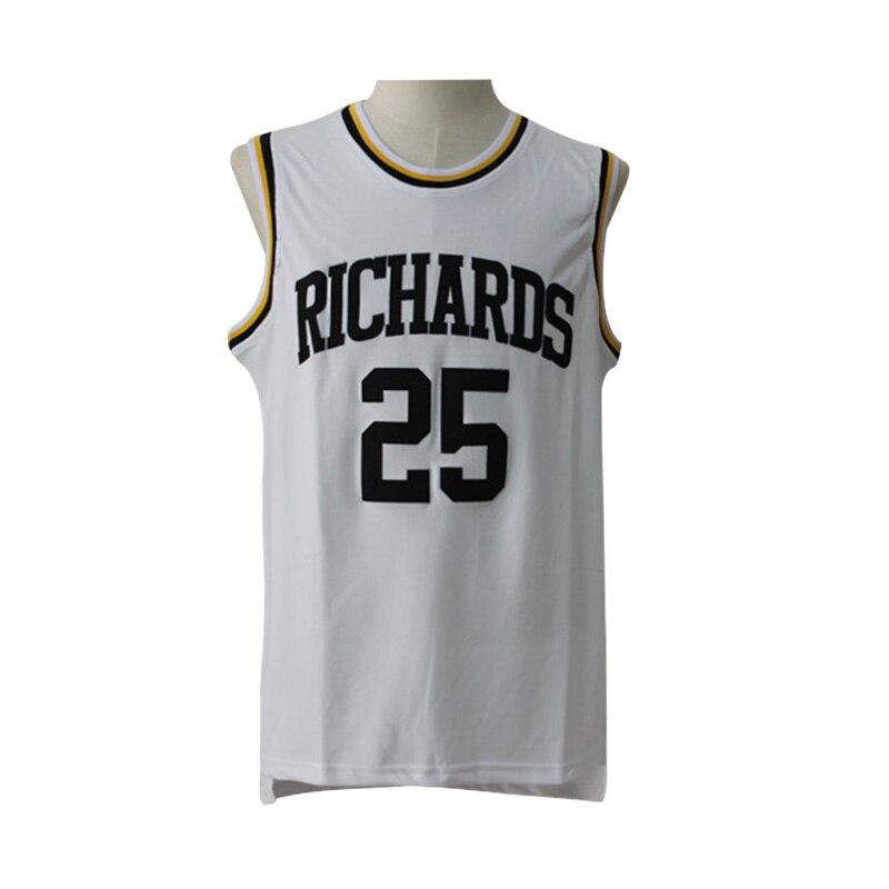 ef742a371 ... RICHARDS High school Dwyane Wade 25 Basketball jerseys 100% Stitched  Wade 25 jersey Cheap sales ...