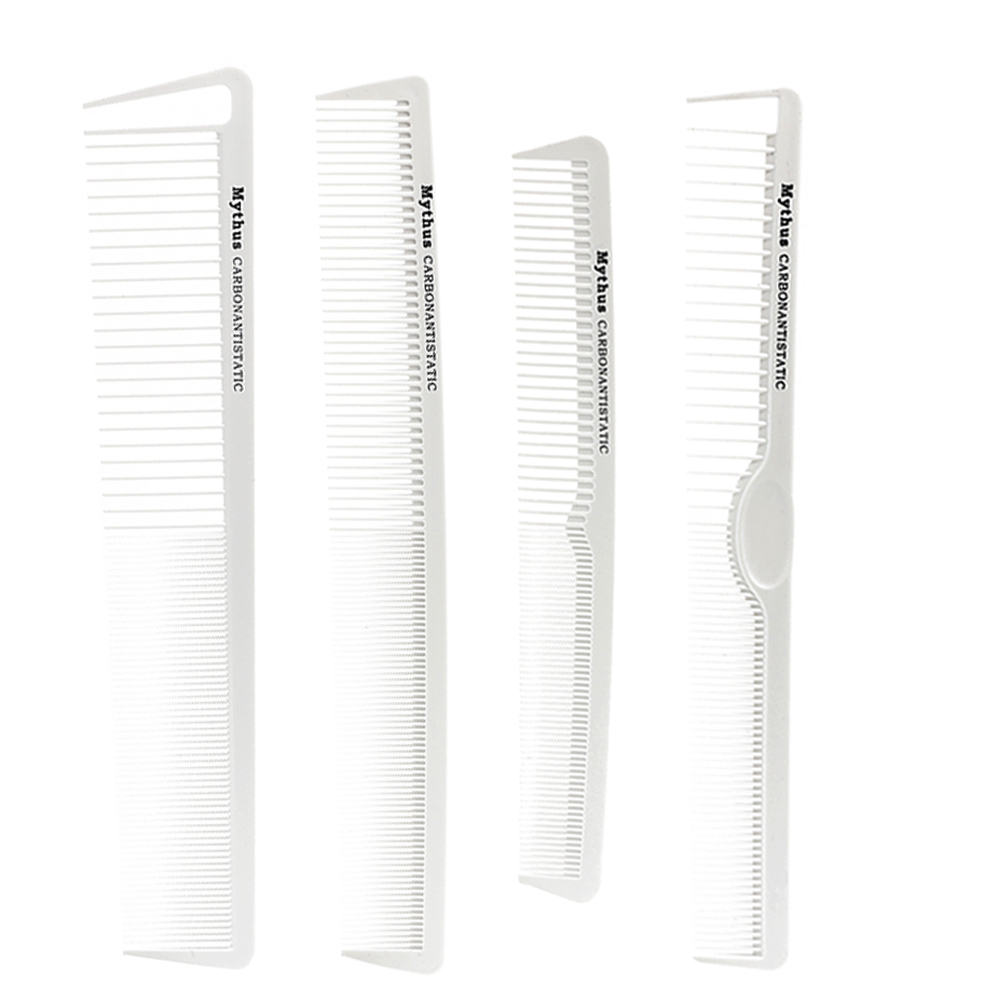7pcs / lot T & G Brand New Hair Carbon Comb Anstatic Haidresser Comb - Hårvård och styling - Foto 2