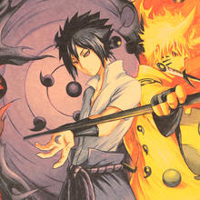 Naruto Poster Kraft Paper Poster