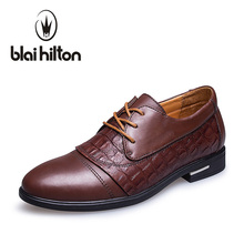 Blaibilton font b Formal b font Shoes font b Suit b font Genuine Leather Luxury font