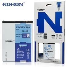 100% Original NOHON Battery BL-4D For Nokia N97 Mini N8 E7 E5 803 N803 702T E6 N5 210 T7-00 Batteria BL 4D BL4D Li-ion Batteries