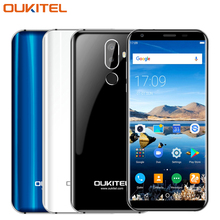 Original Oukitel K5 Mobile Phone 5.7inch Screen 2GB RAM 16GB ROM MTK6737T Quad Core Android 7.0 Three Cameras 4000mAh Smartphone