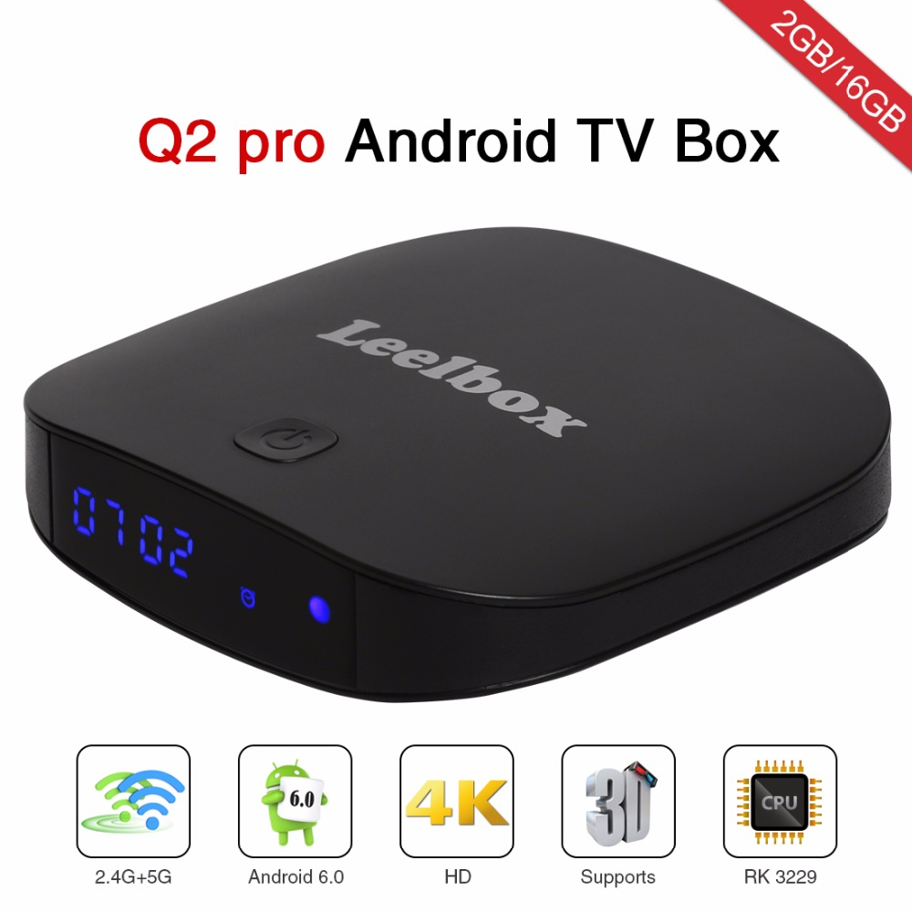 leelbox Q2 pro android tv box , Live TV , more than 2000 channels , stable system  , 2RAM+16GB Flash with one year subscription hdmi tv box unblock ubox3 s900 pro iii gen 3 pro android 5 1 16gb 8 cores oversea version 1200 on live channels no need any fee
