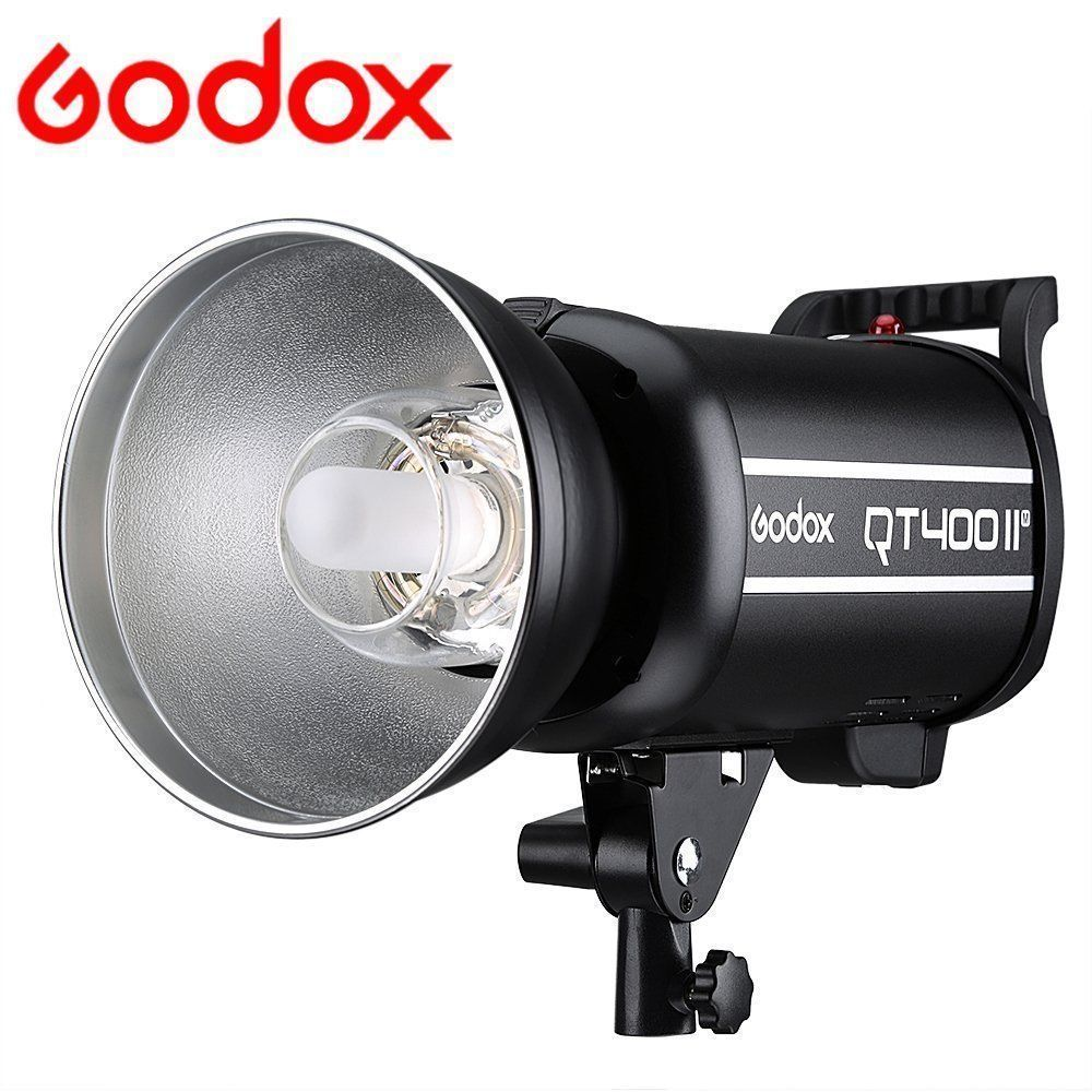 Professional Strobe Godox QT400II 400WS GN65 High Speed Sync 1/8000s Studio Flash Light Built-in 2.4G Godox Wireless X system godox qt400ii 400ws gn65 high speed sync flash light 1 8000s built in 2 4g godox wireless x system recycle time in 0 05 0 7s