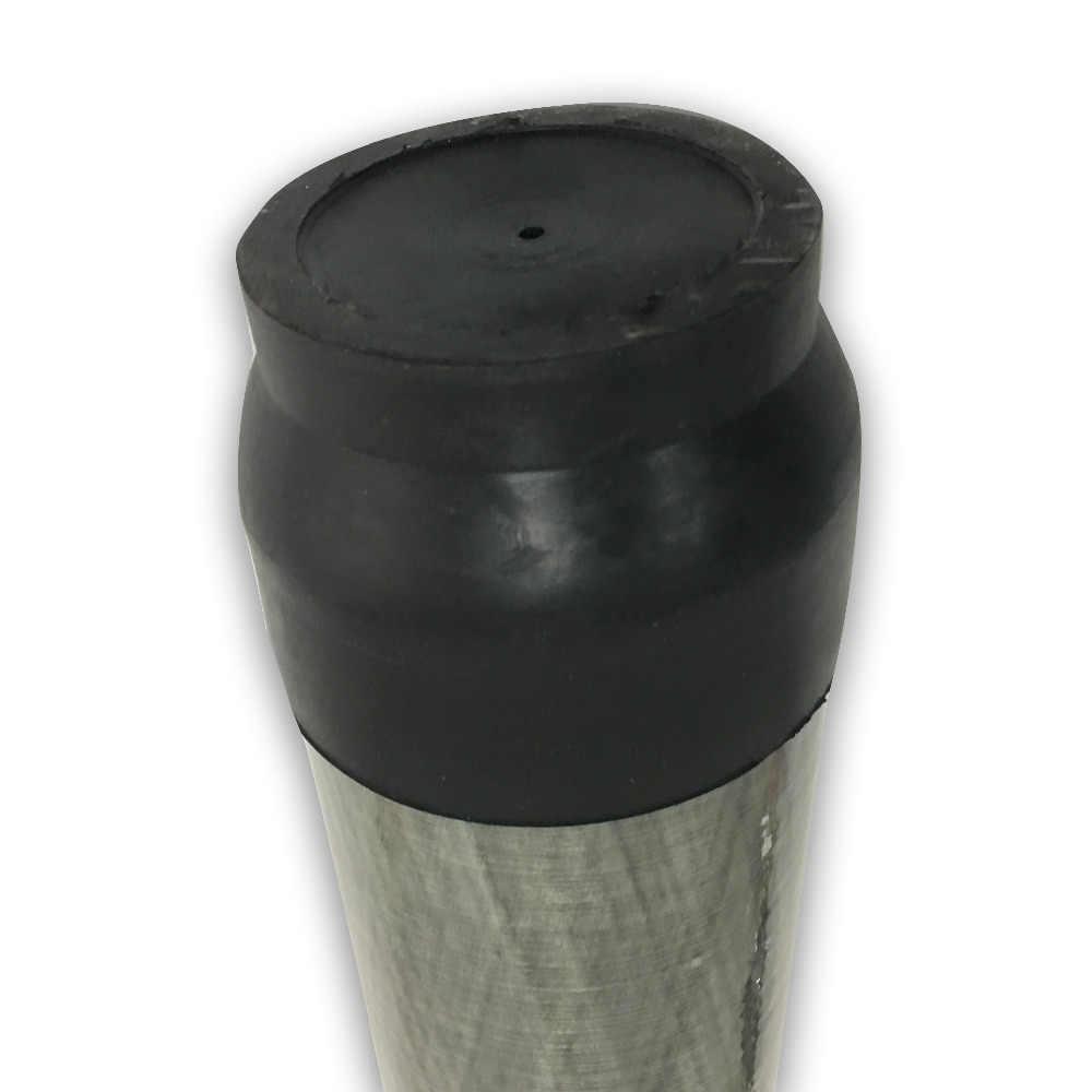 AC10210 جديد 4500Psi بندقية PCP كوندور الادسنس بندقية الكربون أسطوانة من الألياف 3L مضغوط الهواء خزان مع حامي غطاء للكم
