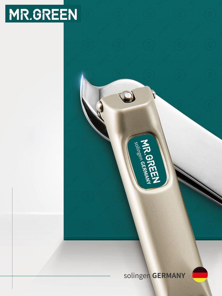 MR.GREEN Stainless Steel Muleshoe Finger Plier Medium Nail Clipper Scissors Repair Dead Skin Fingerprint