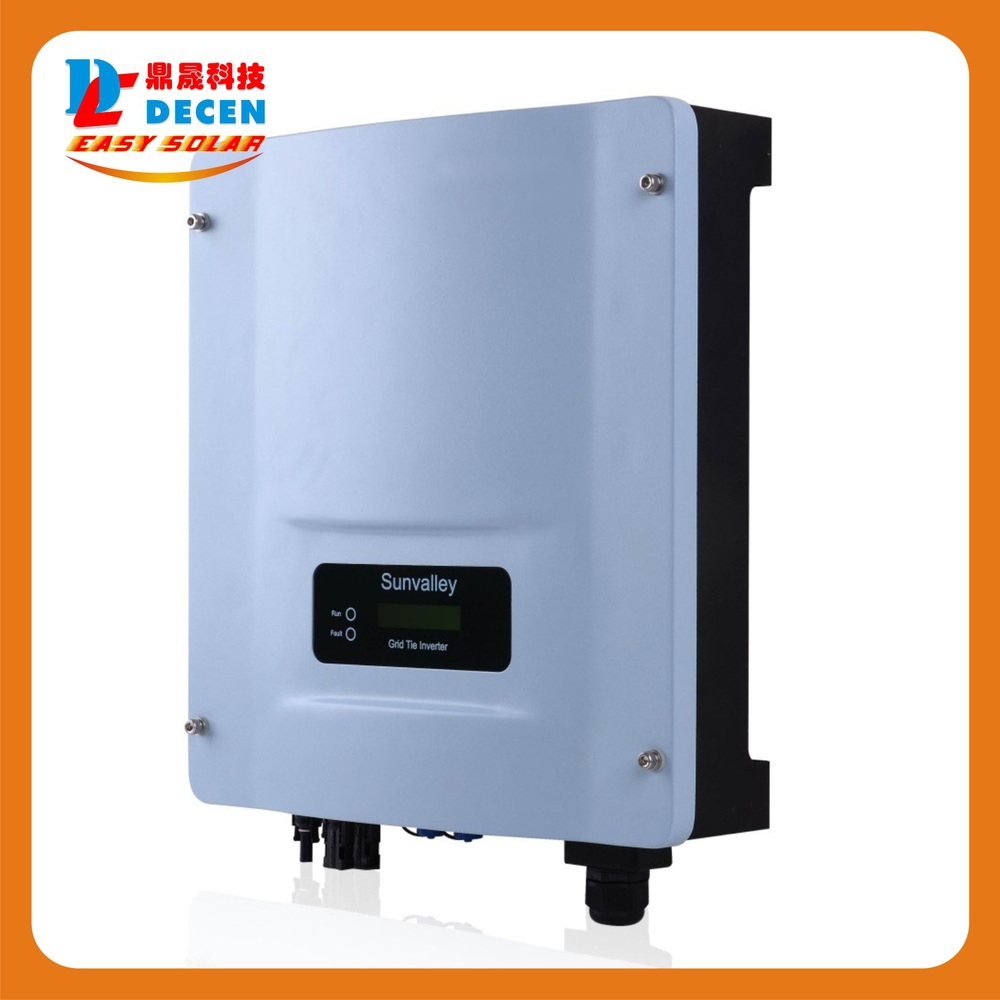 DECEN@ String Grid-connected Pure Sine Wave Inverter 5000W With Two MPPT,220VAC,power inverter,Applicable To Various Countries sexy women s u neck candy color criss cross 3 4 sleeve crop top