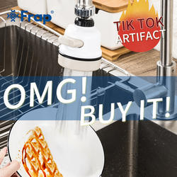 Регулировка Frap кухонный кран фильтр водопроводный брызг три режима выходной воды Насадка для разбрызгивания Tiktok Artifac душевая головка