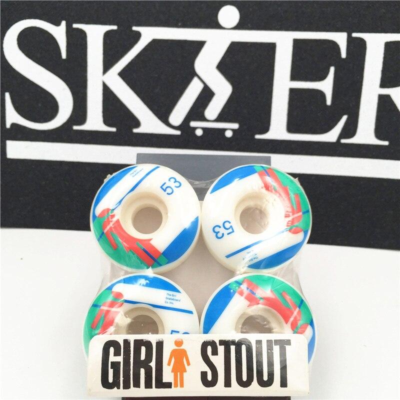 Image 3 - США бренд Pro колёса для скейтборда 101A Твердость 50 53 мм скейтборд посадочные колеса дорожный уличный скейтбордный Спорт колеса Roda De Skate-in Скейтборд from Спорт и развлечения