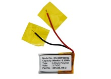 Cameron Sino 90mAh Battery Samsung 481220 B481220 HS-2 for Samsung WEP-200 WEP-210 WE-P301 p301 16 auo p301 16