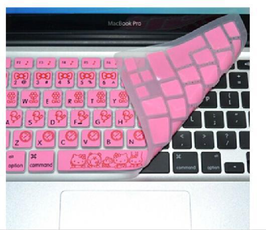 """Для Apple Mac book 13 """"15"""" Macbook Air Новое поступление прекрасный розовый клавиатура Kitty KT защитный конус для кошки кожного покрова протектор"""