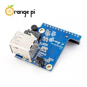 Image 3 - Оранжевый Pi Zero 256MB + плата расширения + черный чехол, мини набор с одной доской