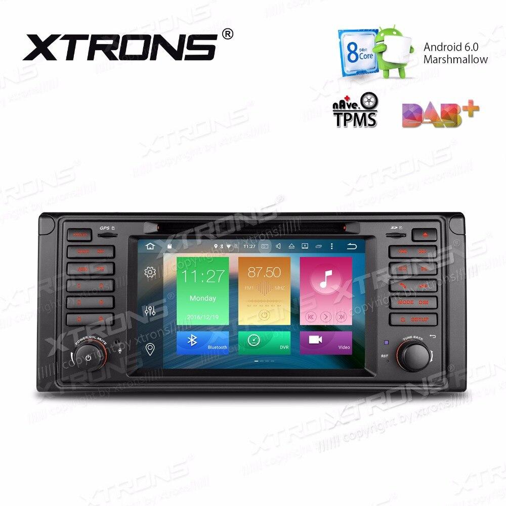 imágenes para XTRONS 7 ''Android 6.0 Octa Core 1 din Radio de Coche DVD jugador de Navegación GPS para BMW Serie 7 E39 1994-2001 1995-2003 M5 1999-2003