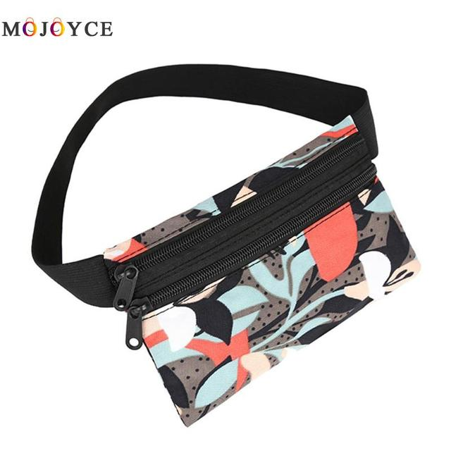 Women Travel Waist Packs Phone Card Holder Fanny Pack Girls Casual Nylon Shoulder Belt Bag Heuptas Pochete Ladies Bum Bag