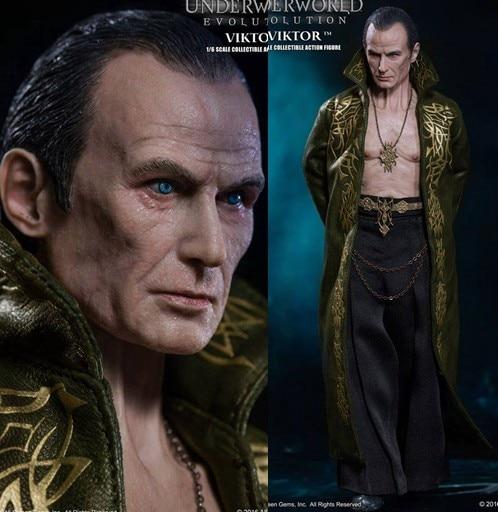 1:6 Super flexible figure Underworld: Evolution vampire Viktor Bill Nighy 12 action figure doll Collectible Model Plastic toys