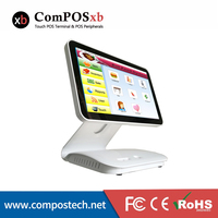 15.6 inch capacitive touch screen//pos terminal system//touch system all in one