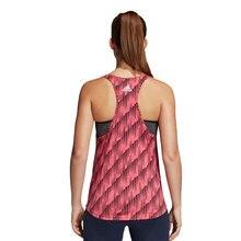 ADIDAS W COMMS AOP TK mujer- camiseta trainning algodón rosa- adidas mujer, adidas camiseta
