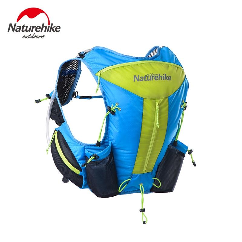 Brand NatureHike <font><b>Hydration</b></font> pack Backpack Sport Men Women Travel Backpack Ultralight Outdoor running water Bag Backpacks 12L
