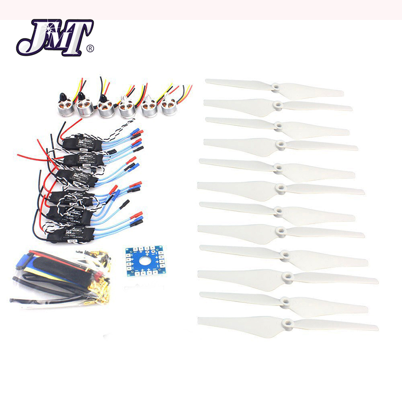 JMT D2212 920KV CW CCW Brushless Motor 30A ESC Propeller Electronic Accessories Set for MultiCopter Hexacopter UFO HeliJMT D2212 920KV CW CCW Brushless Motor 30A ESC Propeller Electronic Accessories Set for MultiCopter Hexacopter UFO Heli