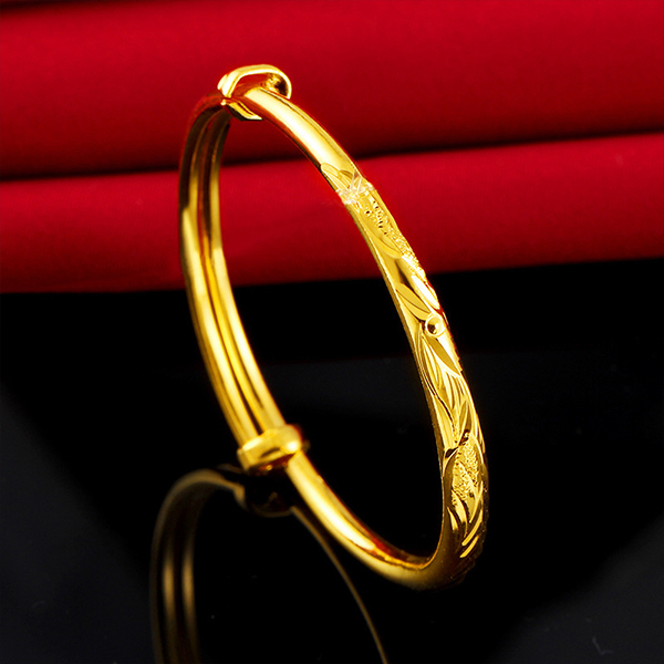 Simple Gold Bangle Children...