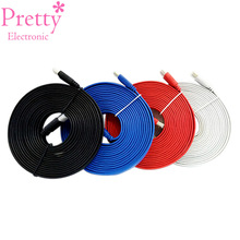 Male To 1.4 Extension HDMI Cables Lead High Speed With Ethernet 1080p 1.5m/3m/5m/10m Black White Red Yellow Blue