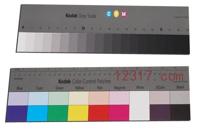 Kodak Gray Scale Kodak Color Control Patches Color Card Color