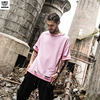 Rocksir Europe And The United States Street Corners Sewn Short Sleeve T Shirt Male Round Collar